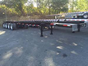 2010 DIONBILT 4-AXLE CHASSIS - Flatbed