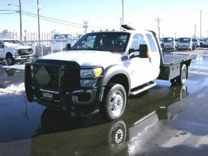 2014 Ford F450 SuperCab - GN Flat Bed