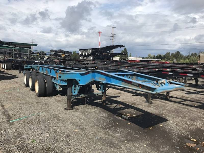 2004 PRATT 3040 3-AXLE 20' Container Chassis