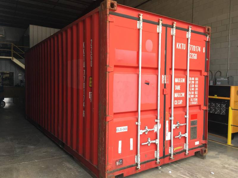 2005 Equipment Leasing Solutions 20' Container Container