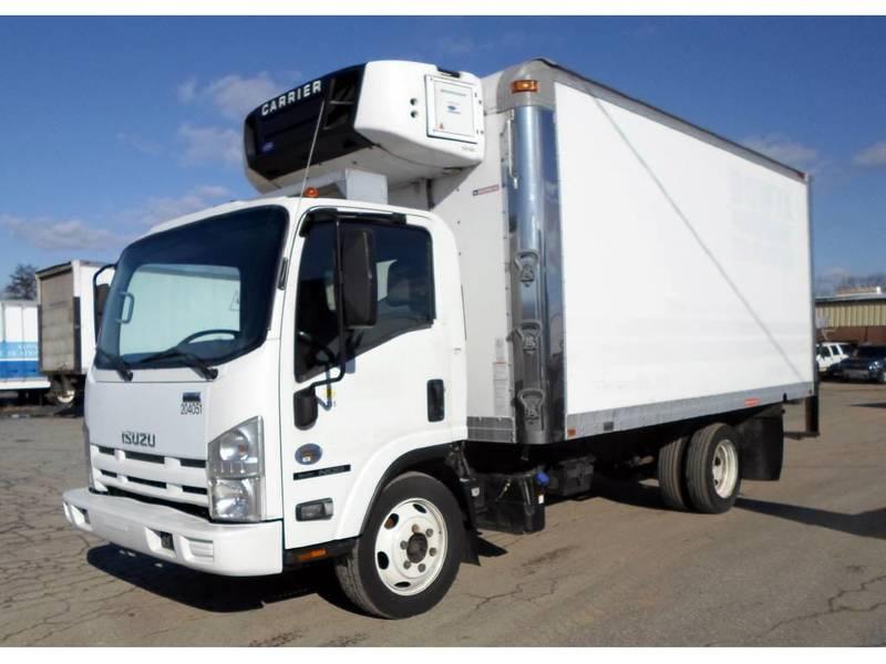 2012 Isuzu NQR Box Truck