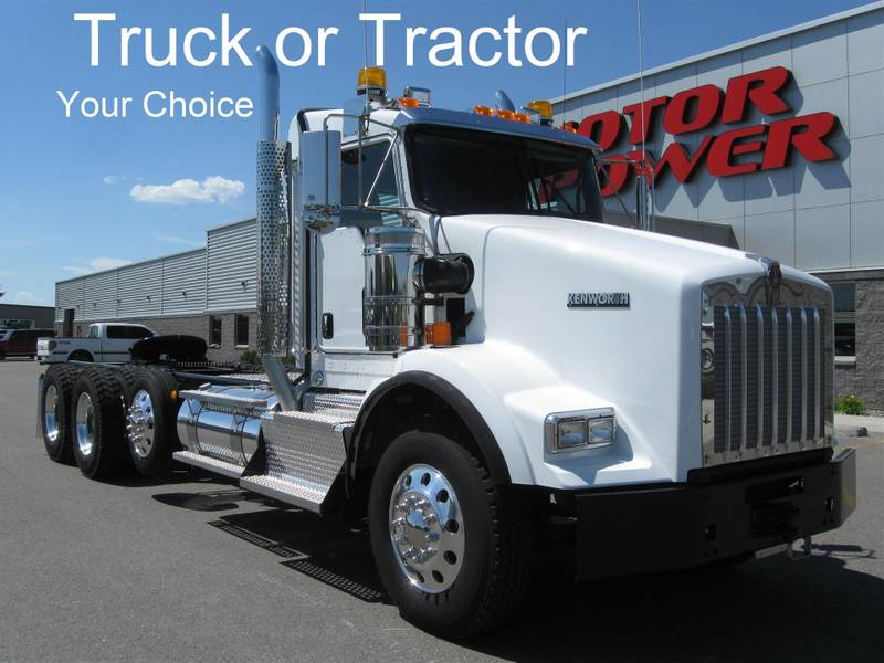 2020 Kenworth T800 Ext Daycab Day Cab