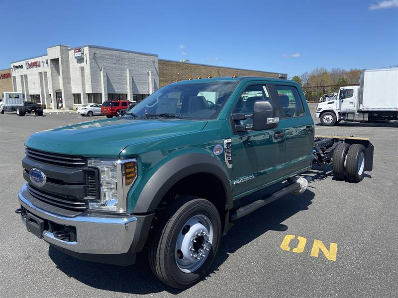 2019 Ford F550 Crew Cab 4x2 Cab & Chassis