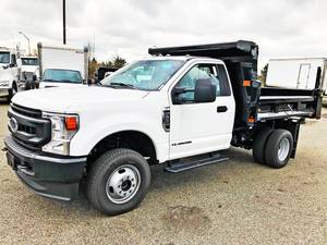 2020 Ford F350 Regular Cab 4x4 - Dump Truck