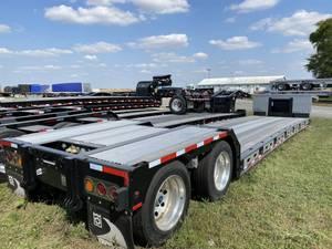 2020 Trail King TK80MG Alum Pullouts - Double Drop Deck Trailer