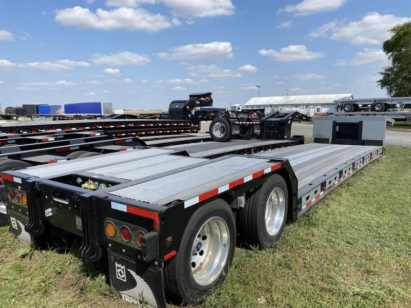 2020 Trail King TK80MG Alum Pullouts Double Drop Deck Trailer