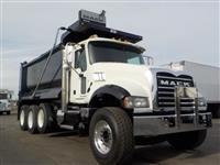 2013 Mack GU713 Tri Axle