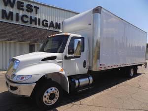 2020 International MV607 SBA LP - Box Van