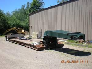 1992 Trail King 30 Ton - Equipment Hauler