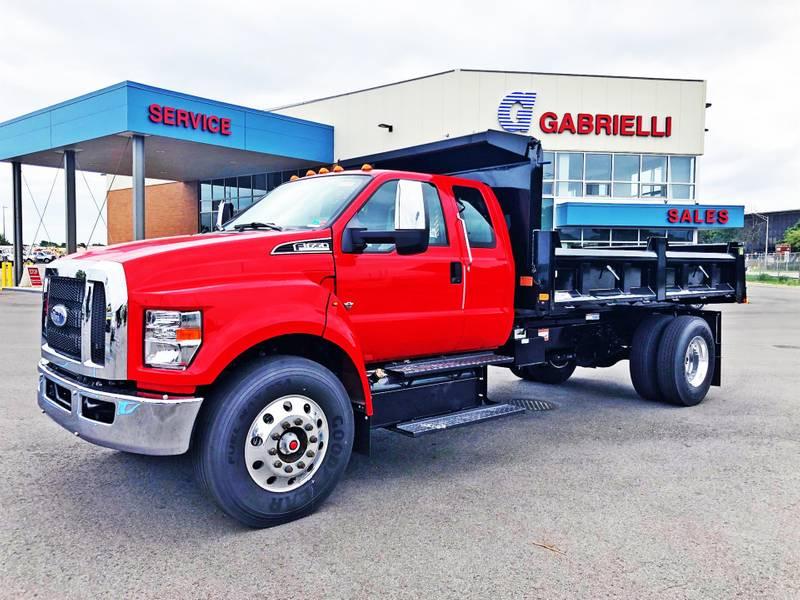 2021 Ford F650 Supercab Dump Truck