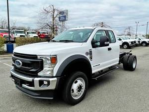 2021 Ford F550 Supercab 4x4 - Cab & Chassis