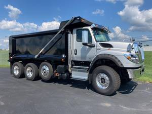 2022 International HV613 SBA 6X4 - Dump Truck