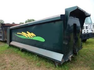 18ft. 6in. Crysteel Box & Hoist - Dump Truck