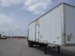 2008 Wabash Lift Gate - Pup Trailer