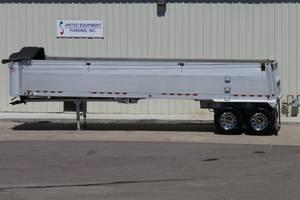 2005 Vantage Frameless Aluminum End Dump - End Dump