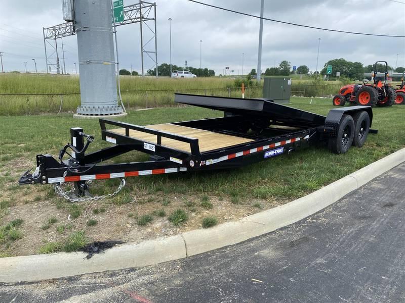 2021 Sure-Trac ST82184TBE-B-140 Tilt Bed Trailer