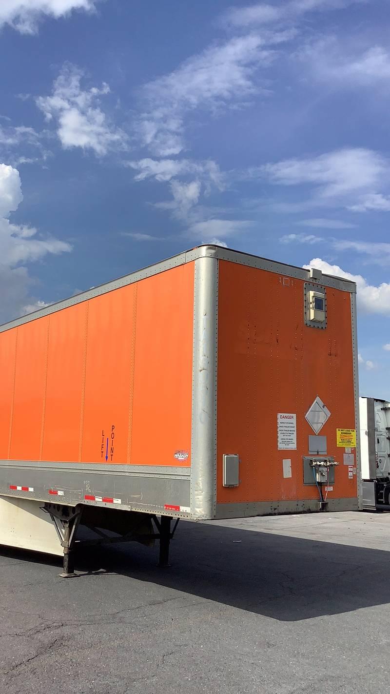 2011 Wabash Van Dry Van