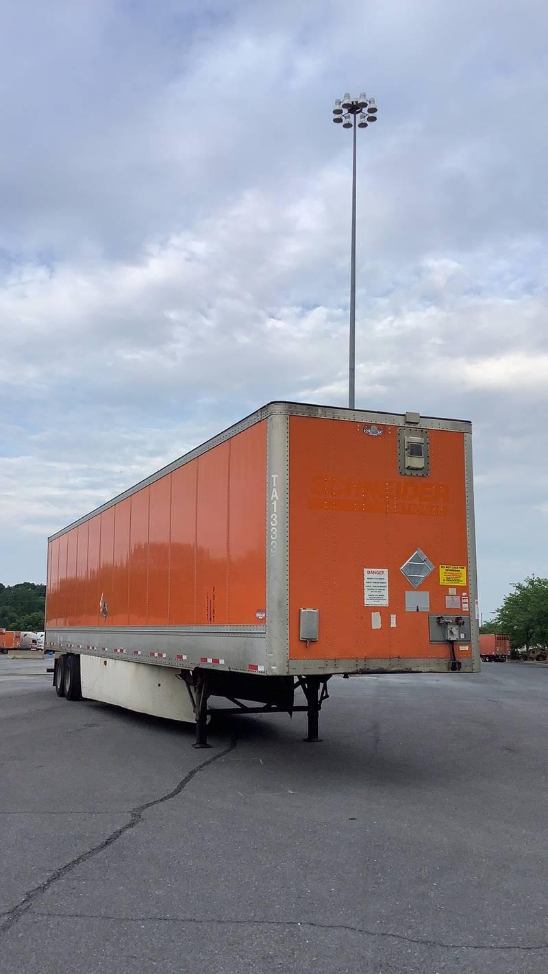 2012 Wabash Van Dry Van