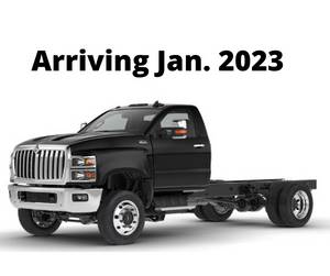 2022 International CV515 SFA 4X4 - Cab & Chassis