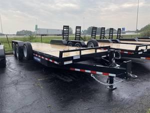 2021 Sure-Trac ST82184TBE-B-160 - Tilt Bed Trailer