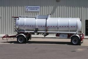 2014 Troxell DOT 407 Crude Oil Tanker - Pup Trailer