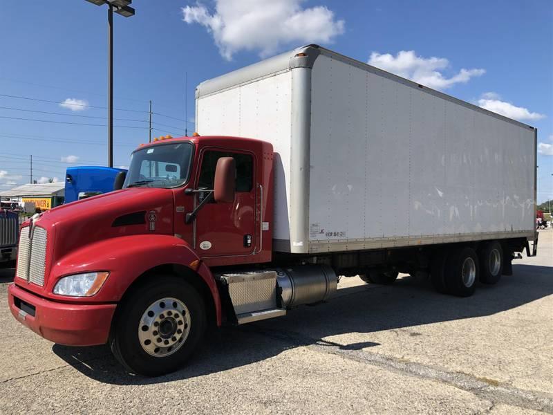 2015 Kenworth T370 Box Truck