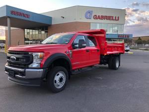 2022 Ford F550 Crew Cab 4x2 - Dump Truck