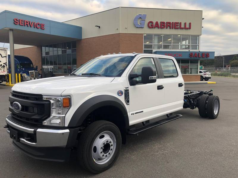 2022 Ford F550 Crew Cab 4x2 Cab & Chassis