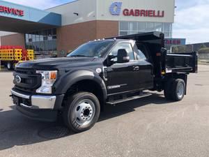 2022 Ford F550 Supercab 4x2 - Dump Truck