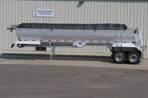 2014 Travis Frameless Aluminum End Dump - End Dump