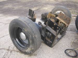 1998 New Way Pusher Axle - Vocational